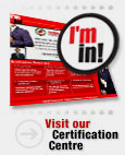 Visit our Certification Centre